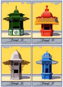 Quiosques - Selos postais